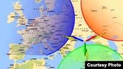 Карта-схема інвестицій до «Столиці Чорного моря».