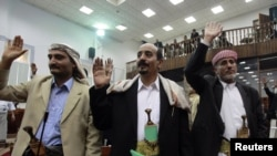 On March 23, members of Yemen's parliament voted to back the president's request for emergency powers.