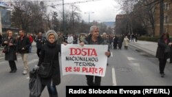 Protesti građana u Sarajevu, 2013.