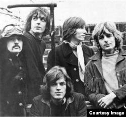 Музыканты британской рок-группы Pink Floyd.