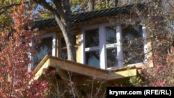 Дом Александра Зурбаганского и Селены Рэй на дереве