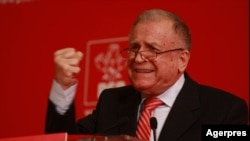 Ion Iliescu, imagine de arhivă.