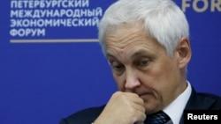 Kremlin economic adviser Andrei Belousov (file photo)