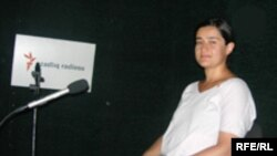 Eks Marsel Universitetinin doktorantı Xuraman Mustafayeva, 21 auqust 2006