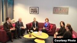 კოსოვოს და სერბიის პრესიდენტების შეხვედრა