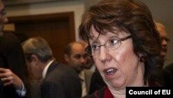 Шефот за надворешна политика на Унијата, Кетрин Ештон