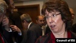 Евробиримдиктин тышкы иштер министри Кэтрин Эштон