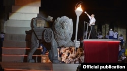 Armenia - The opening ceremony for the 6th Pan-Armenian Games, Yerevan,02Aug,2015