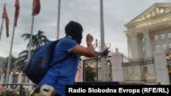 Jedan od protesta Šarene revolucije u Skoplju