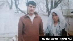 Махмадшариф и Сарвиноз - семейная фотография убитого в Сирии парня