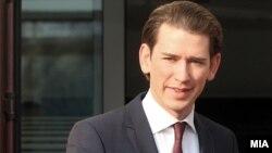 Австрискиот министер за надворешни работи Себастијан Курц