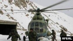 Helikopterët e ushtrisë afgane në aksionet e mëparshme të kërkim-shpëtimit