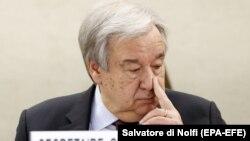 Антониу Гутерриш, генеральный секретарь Организации Объединенных Наций.