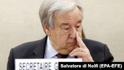 İsveçrə-BMT-nin baş katibi Antonio Guterres