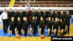 Македонската женска кошаркарска репрезентација.