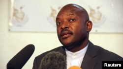 Presidenti i Burundit, Pierre Nkurunziza.