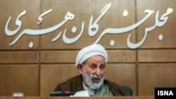 محمد یزدی؛ عضو شورای نگهبان و رئیس مجلس خبرگان رهبری