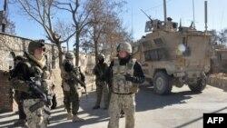 Војниците на НАТО во Авганистан