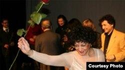 پری ثمر؛ خواننده ایرانی اپرا مقیم آلمان/ عکس از اختر قاسمی