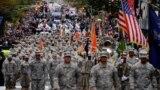 یکی از رژههای پیشین روز کهنهسربازان، نیویورک