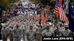 Парад в США. Архивное фото