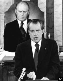 سخنرانی وضعیت کشور ریچارد نیکسون، ۱۹۷۴