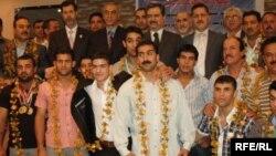 وزارة الشباب والرياضة تكرم قريق الرباعين العراقيين 2010