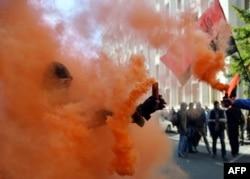 """Выступления """"Правого сектора"""" в Киеве. 17 сентября"""