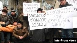 Акциями протеста в Грузии никого не удивишь. Однако в них редко принимают участие люди, которым давно перевалило за семьдесят