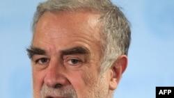 Генеральный прокурор Международного уголовного суда Луис Морено Окампо.