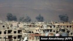 Східна Гута, передмістя Дамаска, 7 лютого 2018 року