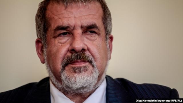Refat Chubarov, head of the Crimean Tatars' Mejlis