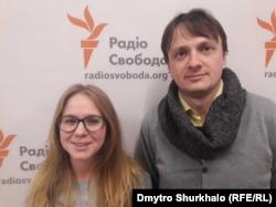 Олександра Оберенко та Віталій Скальський
