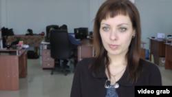 Журналист Анна Андриевская.