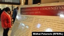 Sa izložbe 'Stotinu godina popisa u Sarajevu', 2011.