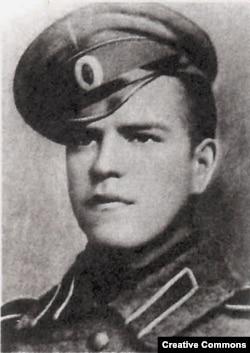 Георгій Жуков у 1916 році