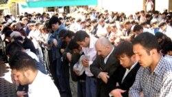 «Əbu-Bəkr» məscidində Cümə namazı, 18 may 2007