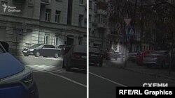 Згодом «Схеми» зафіксували, як відомча автівка Skoda виїхала з Офісу президента