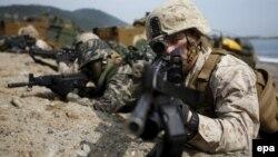 Militari sud-coreeni și americani. Imagine de arhivă.