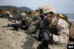کره جنوبی و آمریکا، در حال انجام بزرگترین رزمایش نظامی مشترک خود هستند