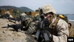 رزمایش مشترک نیروهای نظامی ایالات متحده و کره جنوبی