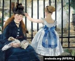 Эдуар Манэ, «Чыгунка» (1873)