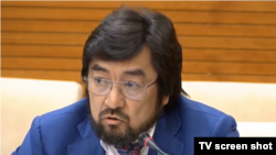 Депутат мажилиса парламента Бекболат Тлеухан.