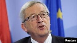 Теперь уже бывший премьер-министр Люксембурга Жан-Клод Юнкер