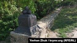 Так обозначена линия обороны Севастополя в период Крымской войны