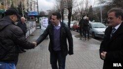 Премиерот Никола Груевски во посета на Велес.