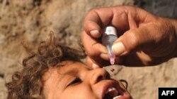 Ilustrim i vaksinimit kundër poliomielitit