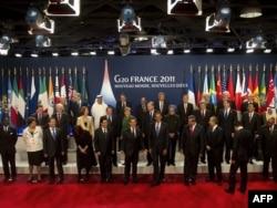 Samiti i G 20 i mbajtur në nëntor në Francë.