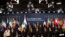 """Лидеры стран мира на саммите """"Группы двадцати"""""""