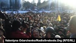 Пікетування Рівненської облдержадміністрації, 24 січня 2014 року